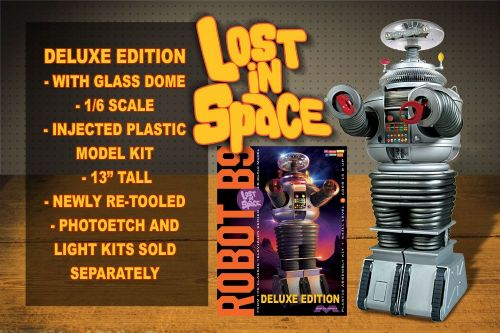 Lost In Space Deluxe Robot 1:6 Scale Model Kit Moebius Models